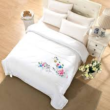 hotel quality white duvet covers 2017 new washnable summer quilts 100 cotton cool comforter quilt cover