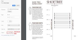 How To Use The Shoetree Projects Size Guide Shoetree Project