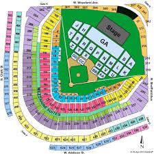 Phish Net Wrigley Field Seating Chart