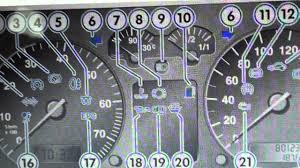 2001 Volkswagen Jetta Warning Lights Vw Golf Mk4 Dash Warning Lights Symbols What They Mean Here