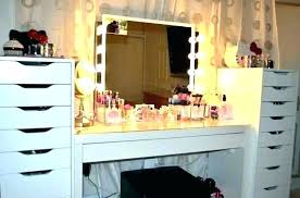 full size of makeup vanity organizer diy white wall mounted countertop for drawer make up acrylic