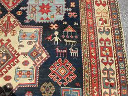 Exceptional Large 19Th Century Caucasian Shirvan Rug. size 10'5''x5'