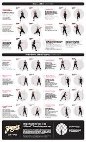 j band softball exercise sheet