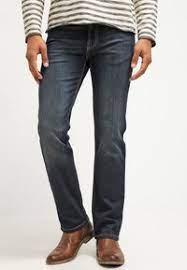 Bugatti nevada 5 pocket grey trouser. Bugatti Nevada Jeans Straight Leg Dirty Wash Blau Zalando De