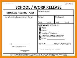 Print Out A Fake Doctors Note For Work Print Out A Doctors Note Of Work Off Template Whatapps Co