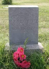 Eunice Fritz Wildrix (1894-1922) - Find A Grave Memorial