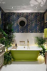 Badezimmer Grün Wandpaneelegq