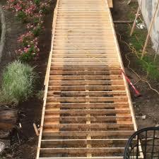FH10MAY_WOOWAL_01-2. A wooden walkway ...
