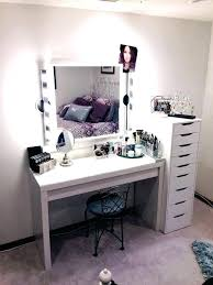 desk mirror with lights small dressing table makeup mirror with lights