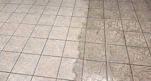 we then seal the grout to ensure a long lasting and fresh appearance to your clean tile and grout