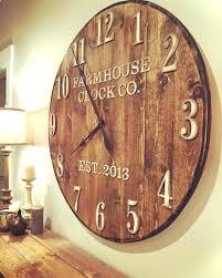 large industrial clocks oversized wall clocks and also large wooden wall clock and also extra large