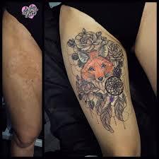 как перекрыть шрам татуировкой 35 примеров работ