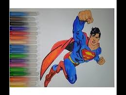 824 x 1186 png 83 кб. Superman Superhero Coloring Pages For Kids How To Color Youtube