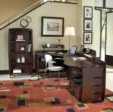 office furniture desk vintage chocolate varnished. Gallery For Sleek Office Desk Designs Furniture Vintage Chocolate Varnished