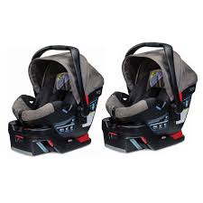 britax b safe 35 side protection infant car seat with base slate strie 2 pack com