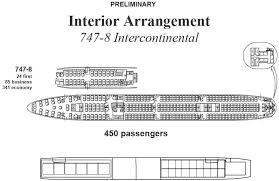 747 8 Intercontinental Seating Chart 22 Valid 747 800 Seating Chart