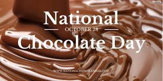 national chocolate day october 28. Interesting October NATIONAL CHOCOLATE DAY U2013 October 28  National Day Calendar And Chocolate A