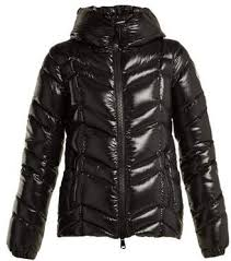 COM Moncler Fuligule Quilted Nylon Jacket - Womens - Black