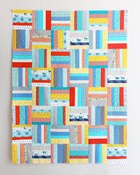 31 Simply Stunning Strip Quilt Patterns   FaveQuilts.com & Early Bird Strip Quilt Pattern Adamdwight.com