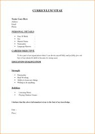 019 Examples Of Resumes Free Basic Resume Templates Job Template