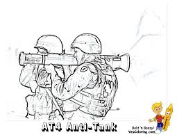 Gusto Coloring Pages To Print Army Army Free Kids Military