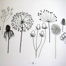 Small Picture Best 25 Flower drawings ideas on Pinterest Pretty flower