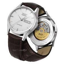 men s tissot visodate automatic watch t0194301603101 watch nearest click collect stores
