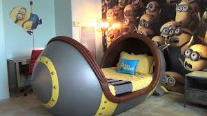 Minion Bedroom Wallpaper Minion Suite Detailed Tour At Loews Portofino Bay Hotel Universal