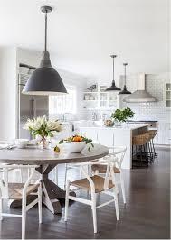 great westport modern farmhouse modern farmhouse modern and gems round dining table in kitchen