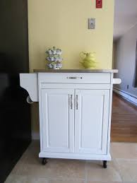 White Kitchen Cart With Granite Top Kitchen Carts Kitchen Island With Bar Stools Winsome Wood Storage