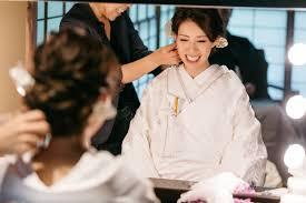 白無垢に合う髪型は品よくおしゃれおすすめ洋髪スタイル特集和装