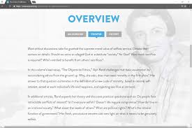 impressions on ayn rand s virtue of selfishness by newton you can a short summary of the essay in the picture above the ayn rand website has a lot of content that helps make the essay more approachable