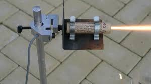 Solid Fuel Rocket Engine Design Solid Fuel Rocket Motor Demo For School Physics