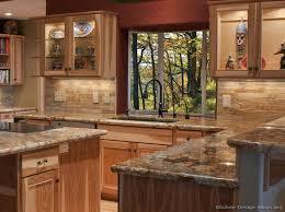 hickory cabinets granite countertop glass windows glass cabinet doors