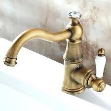 antique brass faucet. White Porcelain Bathroom Faucets Single Handle Faucet Hole Antique Brass O