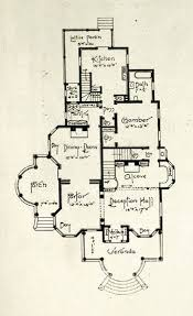 Edwardian floor plan 1st floor 1905