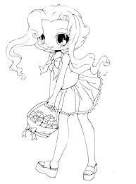 Coloring Page Girl Cute Coloring Pages To Print For Girls Girl Doll