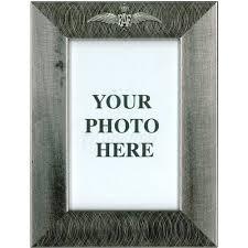 pewter photo frame raf wings