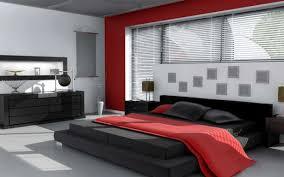 Fantastic Red And Black Bedroom Color Schemes 88 In Interior Decor ...