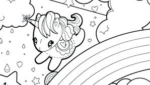 Cheerful Unicorn Coloring Pages Free Unicorns To Print Printables