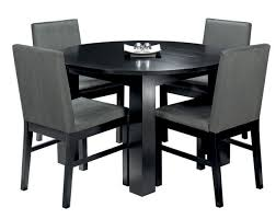 Image Contemporary Small Black Dining Table And Chairs Alluring Decor Images Of Pertaining To Plan The Tasting Room Dining Room Small Round Table For Wooden Regarding Black Design 14