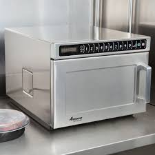 Heavy Duty Microwaves Amana Hdc18sd2 1800w Heavy Duty Stainless Steel Commercial