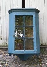 vintage cabinet door styles. Large 19th Century Primitive Blue Corner Cupboard Vintage Cabinet Door Styles