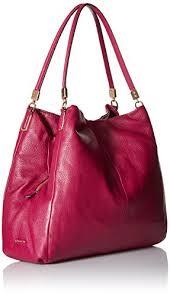 COACH Madison Leather Small Phoebe Shoulder Bag Shoulder Bag Cranberry