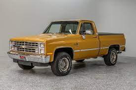 1985 Chevrolet K10 For Sale Hotrodhotline