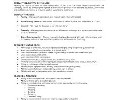 Job Description Of A Barista For Resume Fantastic Jobescription Samples For Resume Barista 31