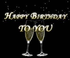 Happy Birthday Champagne Free Happy Birthday Ecards Greeting