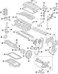 parts com® acura camshaft ex partnumber 14121p73j00 2001 acura integra type r l4 1 8 liter gas camshaft timing