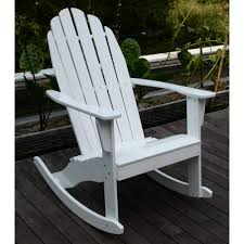 adirondack rocking chair white com