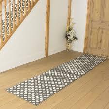 image of interesting hallway rug runners